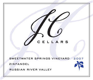 jc cellars sweetwater zin